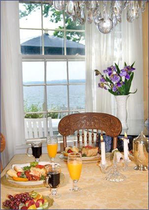 Enjoy a Bountiful Breakfast Here at Angel Inn