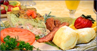 Enjoy a wonderful breakfast at Angel Inn