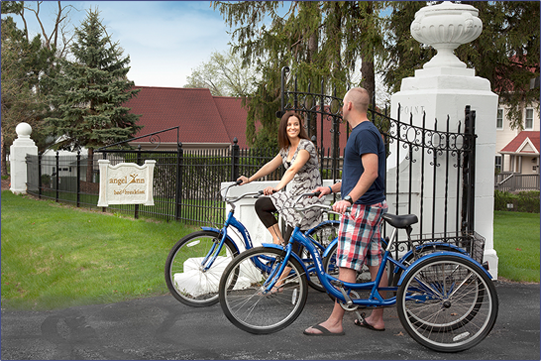 Take a Bicycle Adventure While Here at Angel Inn